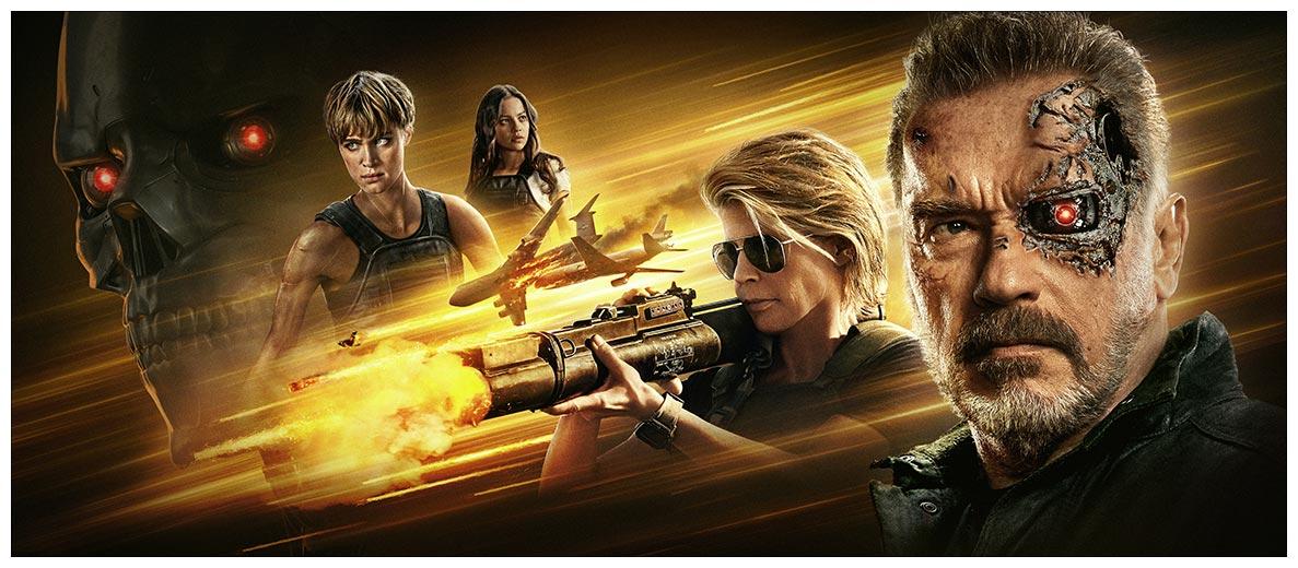 Неформатный постер Terminator / Терминатор